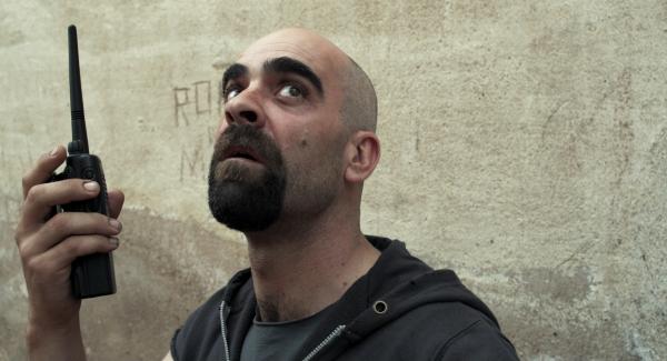 Luis Tosar en La celda 211 (2009, Daniel Monzón)