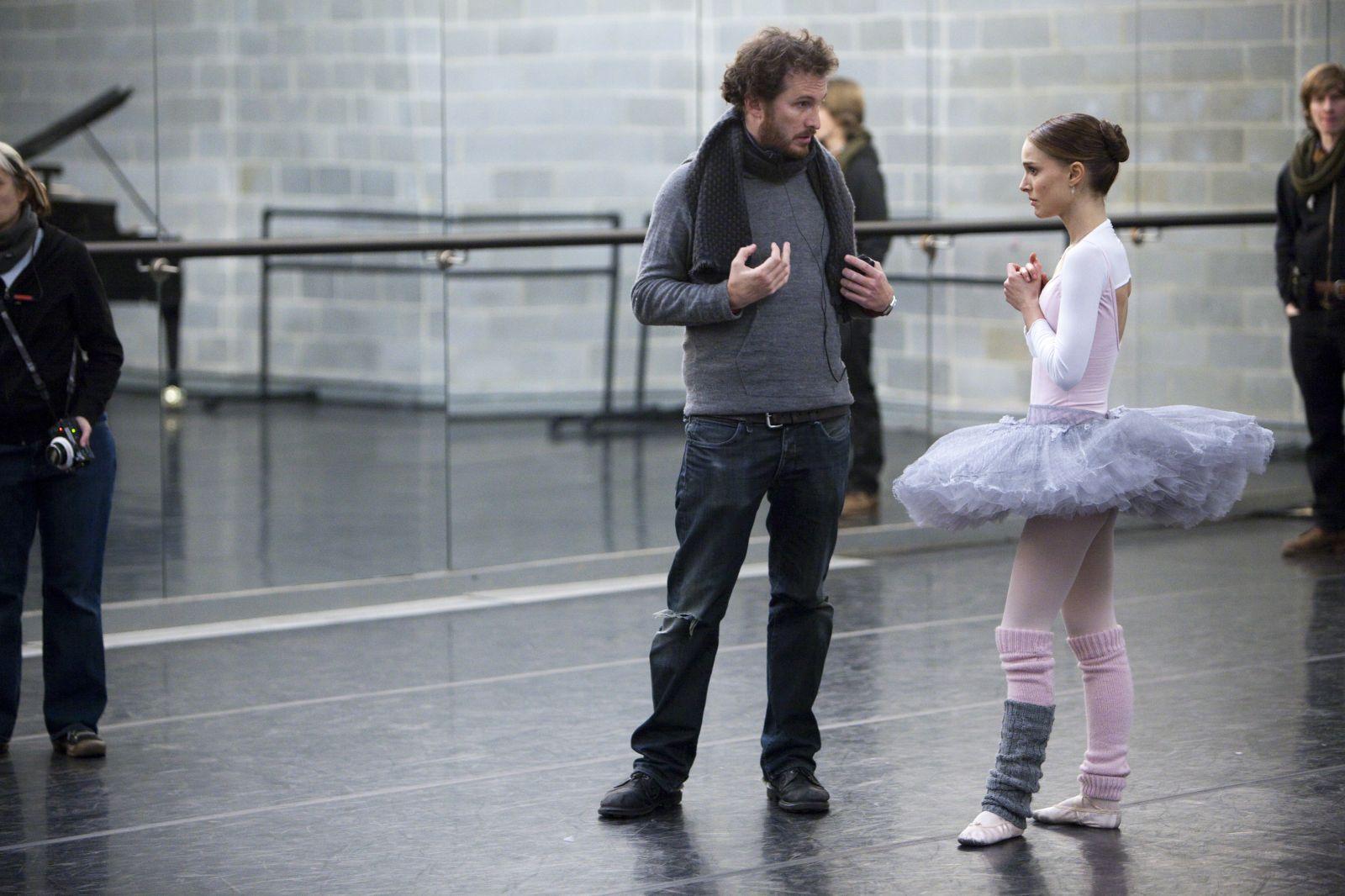 Natalie Portman y Darren Aronofsky