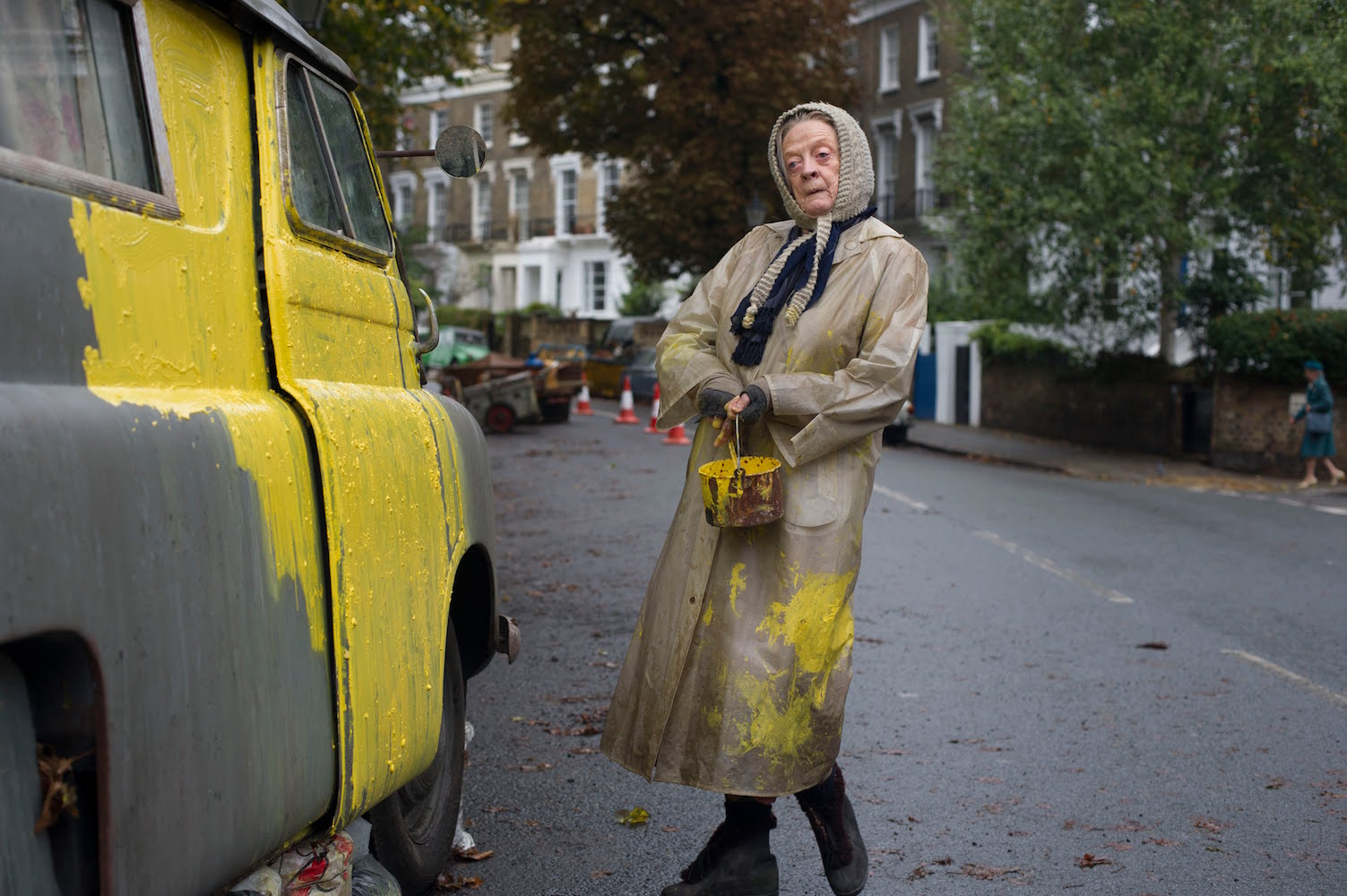 Maggie Smith en The lady in the van