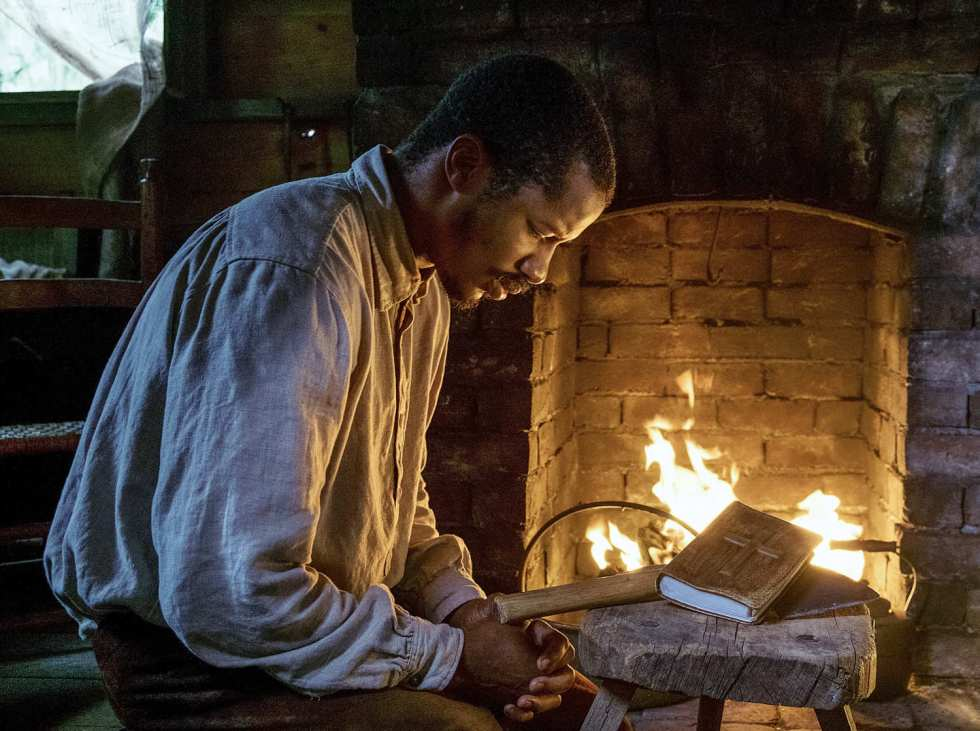 Nate Parker es Nat Turner en El nacimiento de una nación (The birth of a nation, Nate Parker, 2016, EE.UU.)